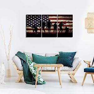 ,framed american flag,wooden american flag wall decor,large wooden frame,american flag art