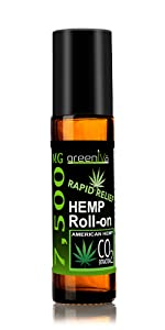 7,500mg Rapid Relief Roll-On hemp essential oil blend