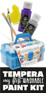 paint kit for kids and beginner artists washable
