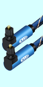 90degree optical cable