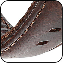 leather band compatible with versa bands for women