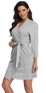 cotton robes for women