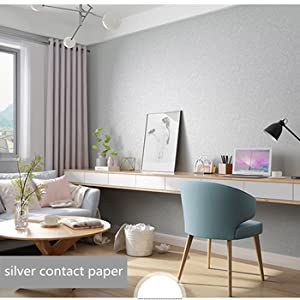 silver contact paper