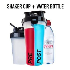 Shaker Cup Shaker Bottle Dual Shaker