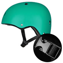 Skateboard Helmet CPSC Impact Resistance Ventilation for Cycling Skateboarding Scooter Dual Sports