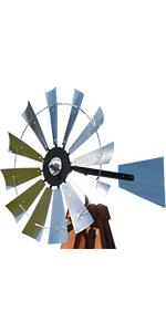 scott windmills 38 inch head