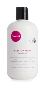Passion Fruit Conditioner, Organic, Sulfate-free, pthalate-free, nourishing, non-toxic, scent, aroma