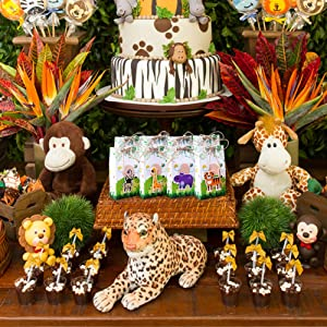 animal party gift bags
