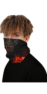 FACE MASK COVER GAITER BANDANAS