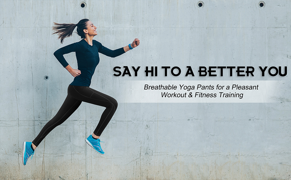 breathable yoga pants