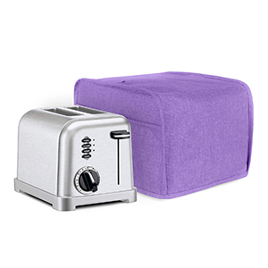 Fits for Most Major 2 Slice Toasters 11 x 7.5 x 8 inches Toaster Cover with 2 Pockets LUXJA 2 Slice Toaster Cover Black