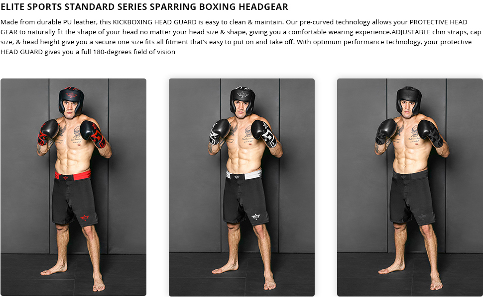 Boxing MMA sparring Kickboxing headgear for men,