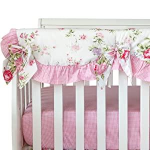 cute crib rail cover