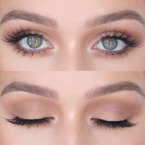Eyelashes With Natural Look - Comes With Applicator - No Glue Needed