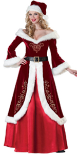 Deluxe Mrs. Claus Costume