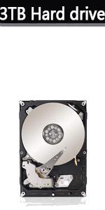 3T hard drive