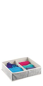 color size group soft storage dividing mix match child nursery kitchen trim delicates laundry