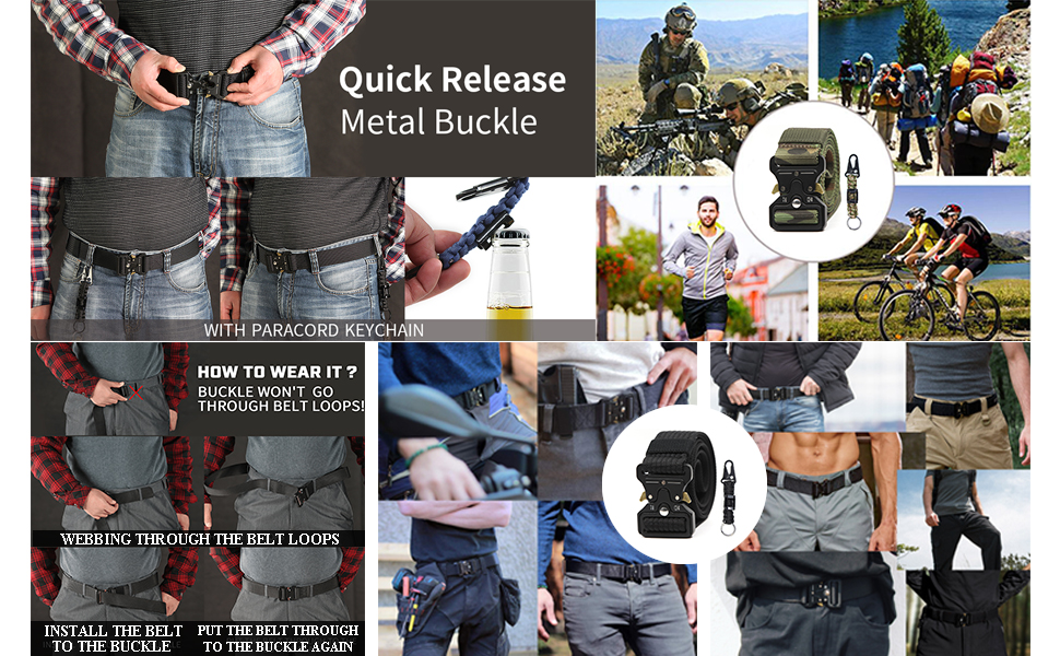 Tactical Belt for Men