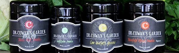 DR. COWAN'S GARDEN NUTRITIOUS & DELICIOUS VEGETABLE POWDERS