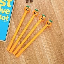Vegetables Funny Pumpkin Gel Ink Pen