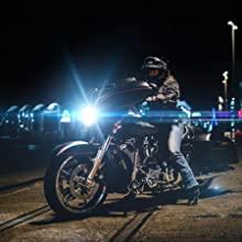 street glide led headlight harley davidson
