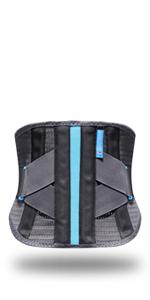 Lumbar support belt Gray