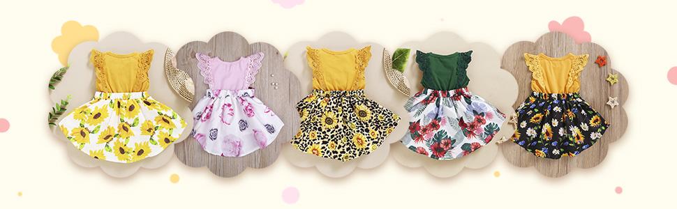 sunflower dresses