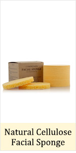 compressed cellulose facial sponge spa face wash sponges yellow beige natural usa exfoliating scrub