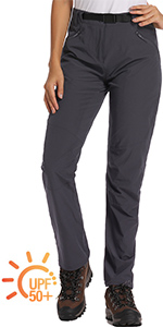 hiking pants women Toomett Lightweight water resistant hiking shorts