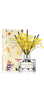 Cocodor Real Flower Reed Diffuser