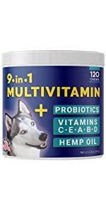 vitamins for dogs multivitamin supplement