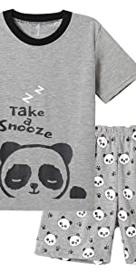 Boys' panda pajamas