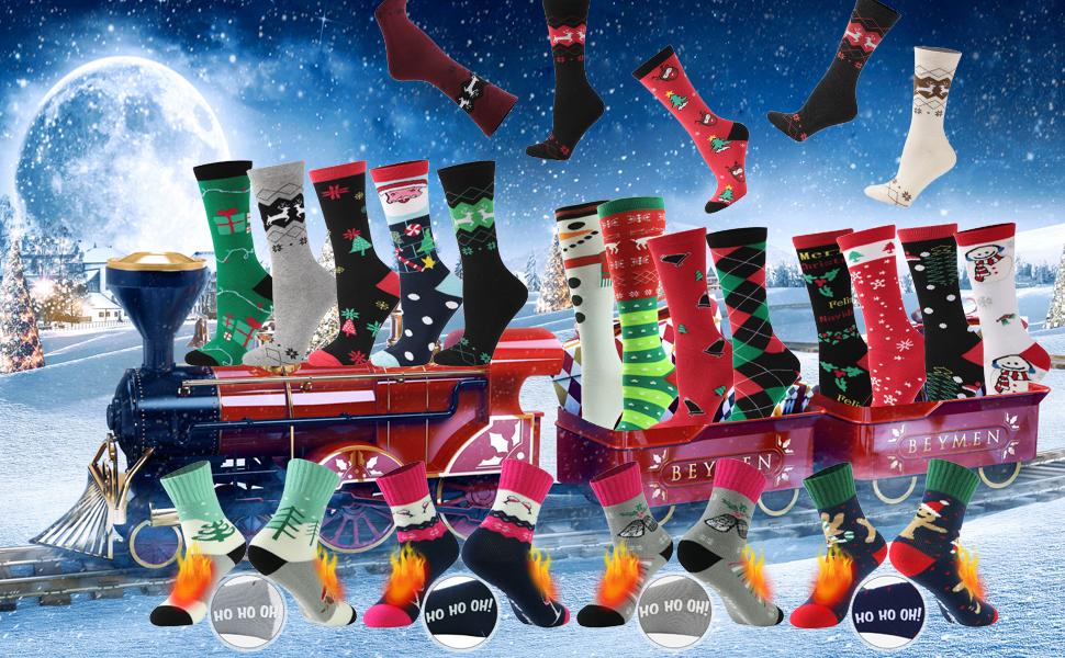 christmas gift crazy socks