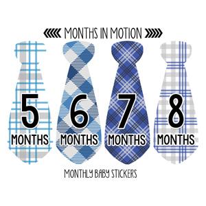 Baby Tie Stickers