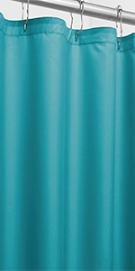 Poly double sided curtain