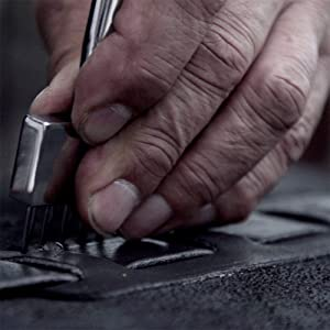 handmade handstitching hand stitched thick durable thread