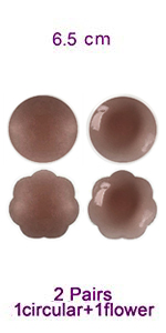 Nipple Cover Silicone black ,New