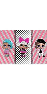 Pink Silver Stripe Polka Dots Photo Photography Backdrop Banner Vinyl 7x5ft…