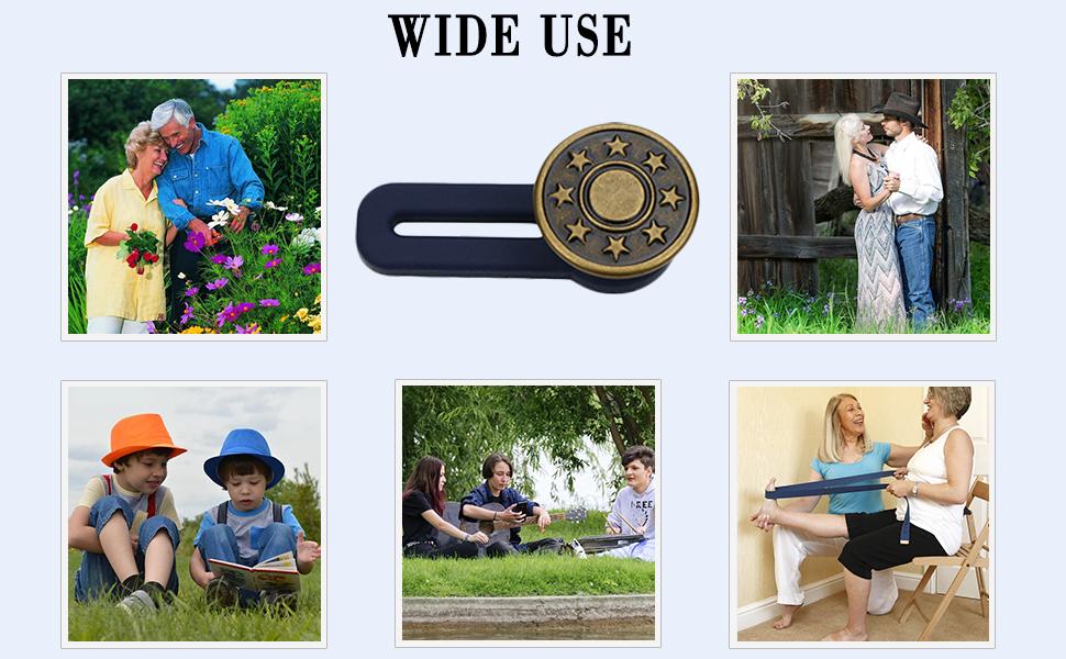 instant buttons jean button no sew reusable