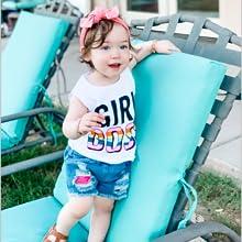 hort Pants Summer Outfit Set for Girls Kids