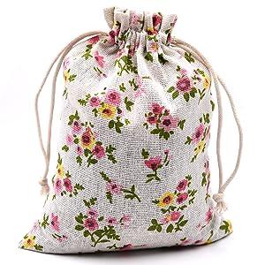drawstring gift bags 6 x 8