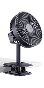 Battery Operated Clip on Fan
