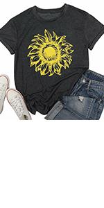 Sunflower T-shirt Women