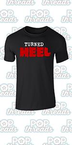 Wrestling Retro Vintage Wrestler Heel Babyface Graphic Tee T-Shirt for Men