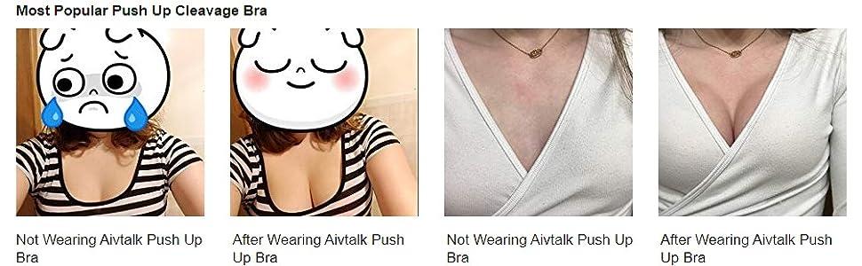polular cleavage bra