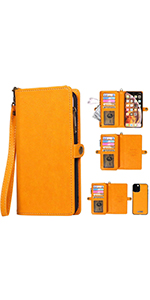 wallet case leather iphone 11