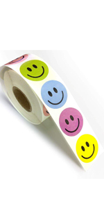 Smiley Label Seals