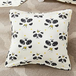 cute panda pillowcase