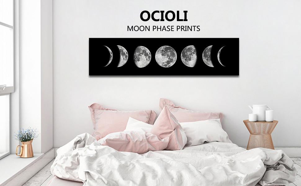 Moon canvas prints