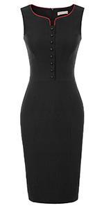 black pencil dressses